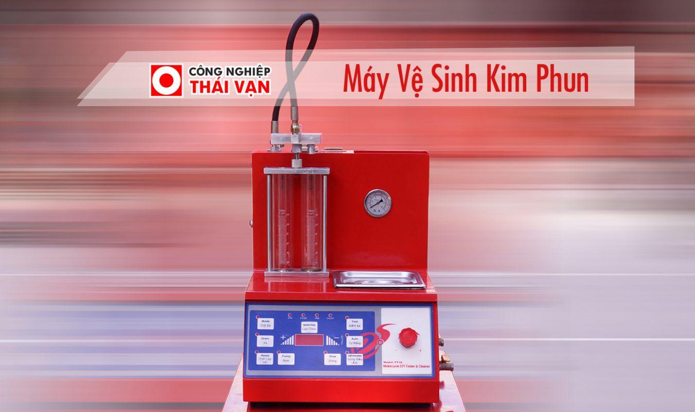 HDSD Máy Vệ Sinh Kim Phun – Cơ Khí Thái Vạn